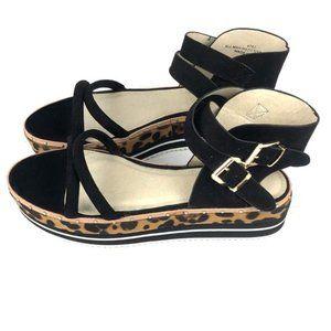 Eloquii  Cheetah Platforms  sandals